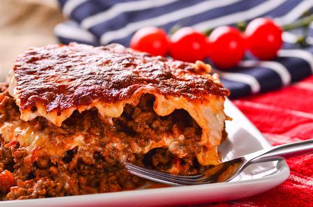 40299691 - home made beef lasagna